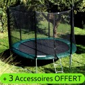 Trampoline 245 (Taille S) +Accessoires Offert