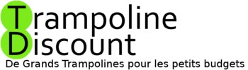 Logo trampoline discount